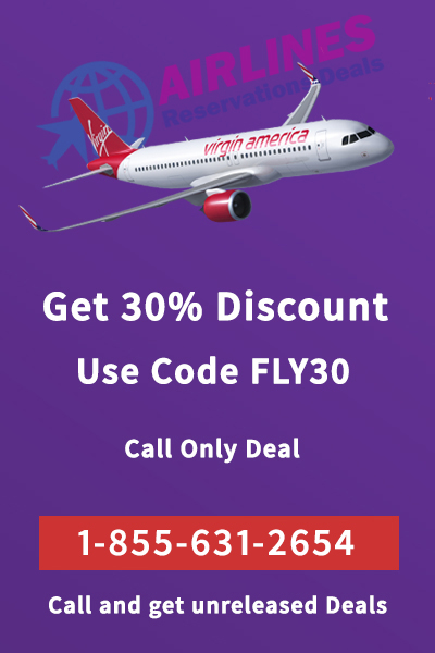 Virgin America flight reservations