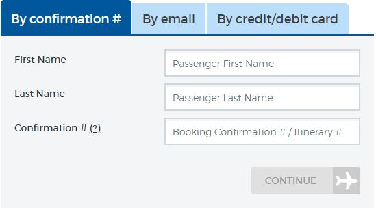 Allegiant Airlines Online Check In