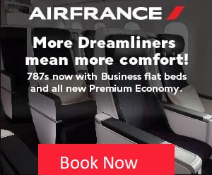 Air France Class reservations,