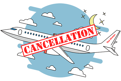 Thai Airways Ca, Thai Flight Cancellation Policyncellation Policy